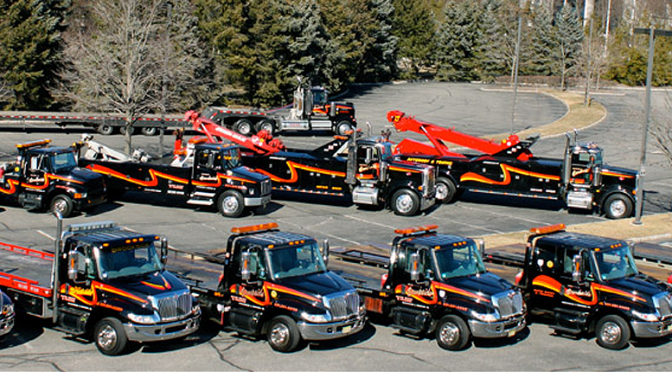 impound lot towing